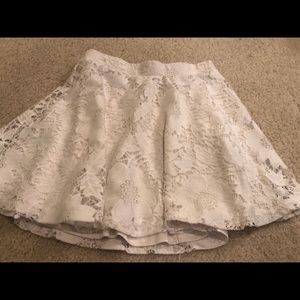 Aeropostale White Skirt